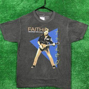 George Michael Faith Rock Tshirt size M